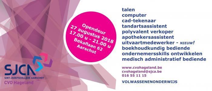CVO Hageland Opendeur 2018